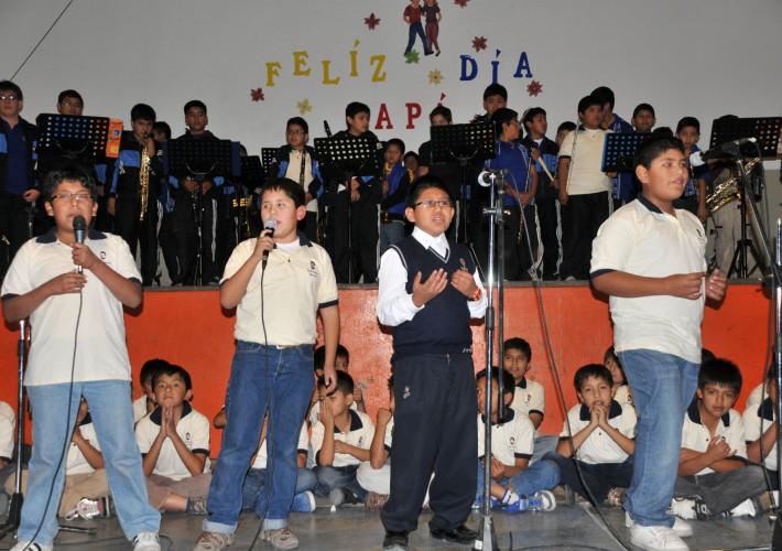 en homenaje al papá salesiano de Ayacucho « Salesianos del Perú