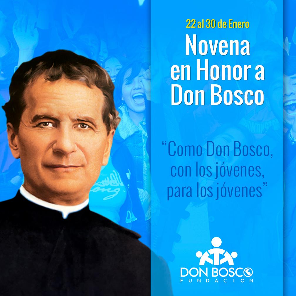 Triduo En Honor A Don Bosco Salesianos Del Per