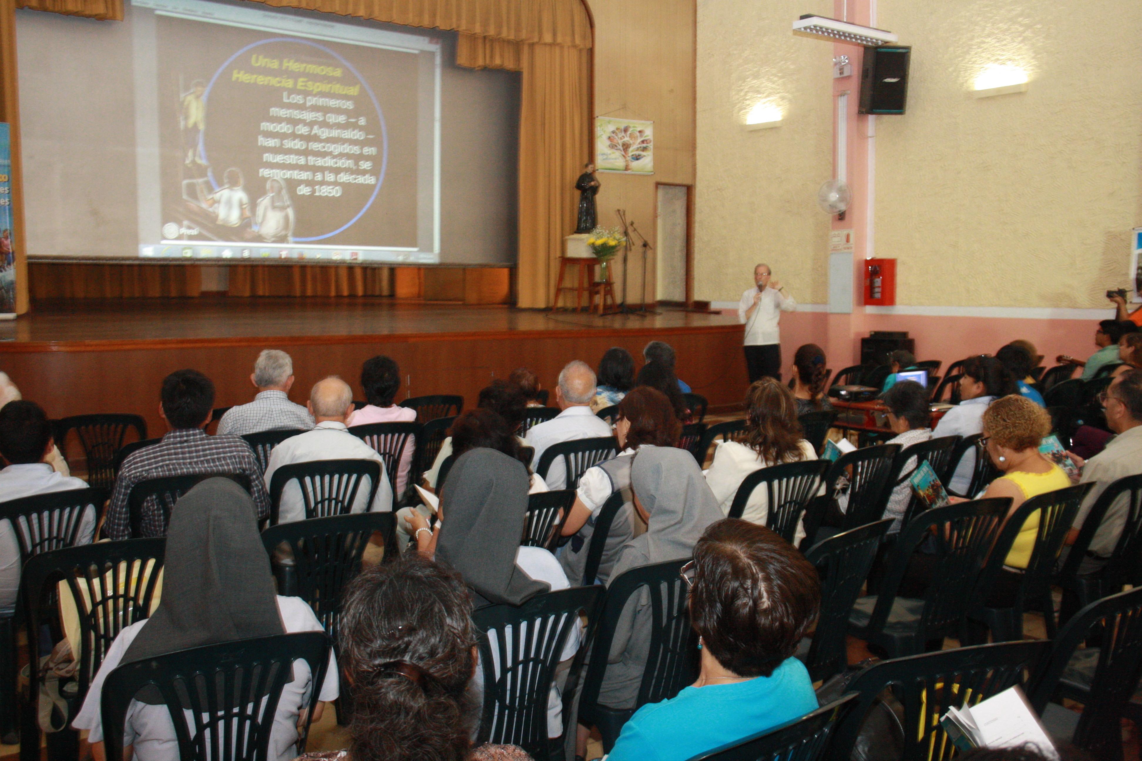 Presentación del Aguinaldo 2015: el ADN de los salesianos
